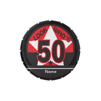 Look Who's 50 | 50th Birthday Candy Tins