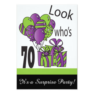 Look Who's 70 | 70th Birthday Card