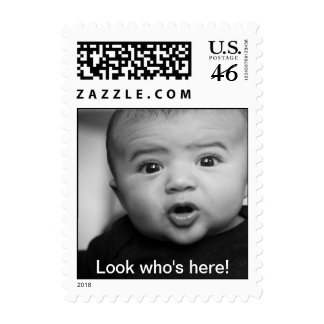 Look who's here! postage stamp