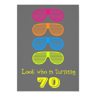 Look who's Turning 70 Card