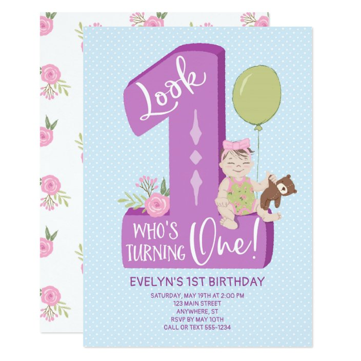 1st Birthday Owl Party Look Whoos 1 Pink 18 Foil Balloon Birthday Express