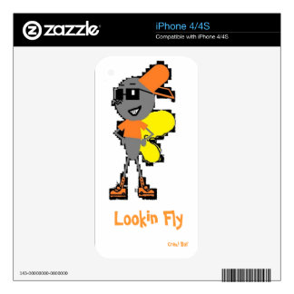 """Lookin Fly"" iphone4 case Skin For iPhone 4S"