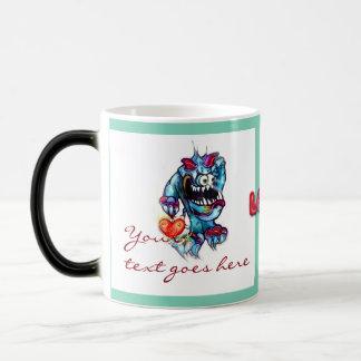 Lookin`for Love Troll with Heart Custom Text Mug