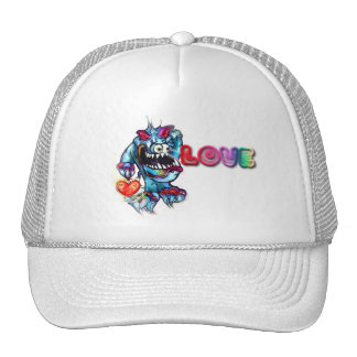 Lookin`for Love Troll with Heart Rainbow Hat