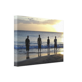 Lookin' Out at the Ocean Canvas Prints