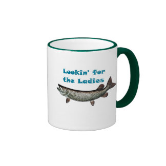Lookin para las señoras taza a dos colores