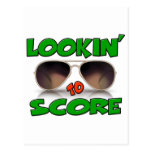 Lookin to Score with Sunglasses Postcard