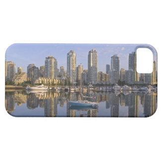 Looking across False Creek at the skyline of 2 iPhone SE/5/5s Case