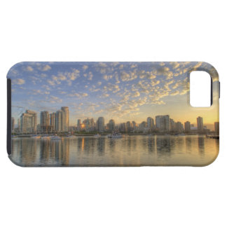 Looking across False Creek at the skyline of iPhone SE/5/5s Case