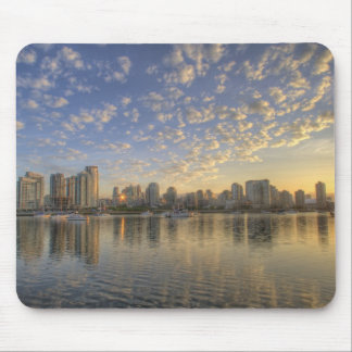 Looking across False Creek at the skyline of Mouse Pad