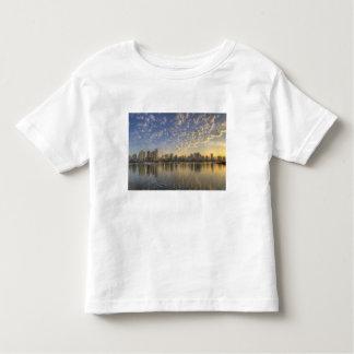 Looking across False Creek at the skyline of Toddler T-shirt