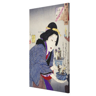 Looking as if She Wants to Change: The Appearance Canvas Print
