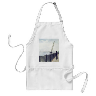 LOOKING AT CANADIAN SIDE ADULT APRON