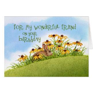 Looking at Ladybugs Birthday Card