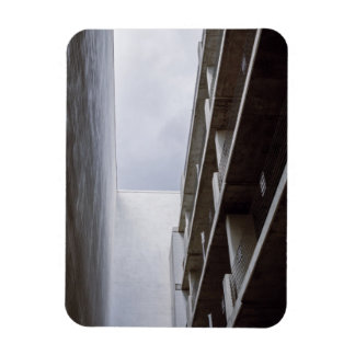 Looking at the bright side rectangular photo magnet