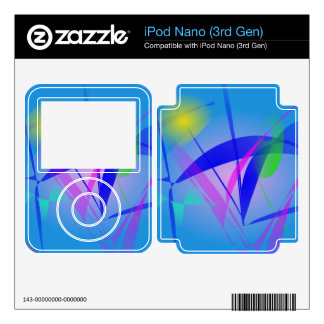 Looking at the Yellow Sun through the Grass Decal For iPod Nano 3G