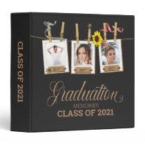 Looking Back Graduation Photo Memory Book Album 3 Ring Binder