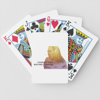 Looking Back Moving Forward Designs Bicycle Playing Cards