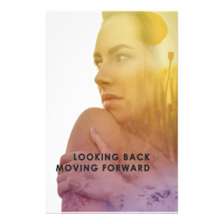Looking Back Moving Forward Designs Stationery