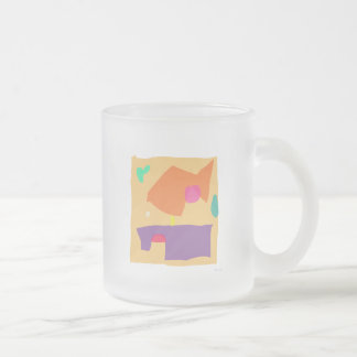 Looking Back 10 Oz Frosted Glass Coffee Mug