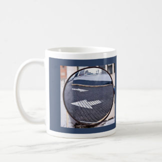 Looking Back on Life Classic White Coffee Mug