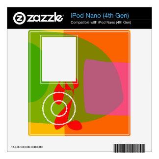 Looking Back iPod Nano 4G Decal