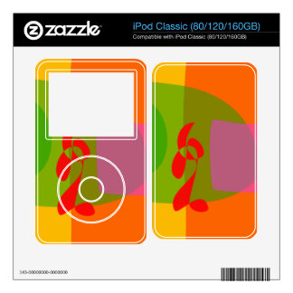 Looking Back Skin For iPod Classic