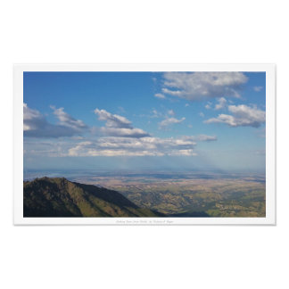 """Looking Down From Diablo,"" Nature Decor Photo Print"