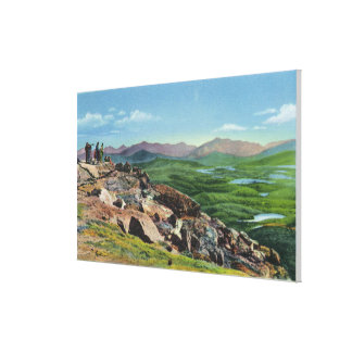 Looking Down from Whiteface Memorial Hwy Canvas Print