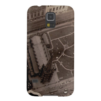 Looking Down on Trinity Church and Cemetery Galaxy S5 Cover