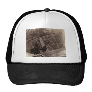 Looking Down on Trinity Church and Cemetery Trucker Hat