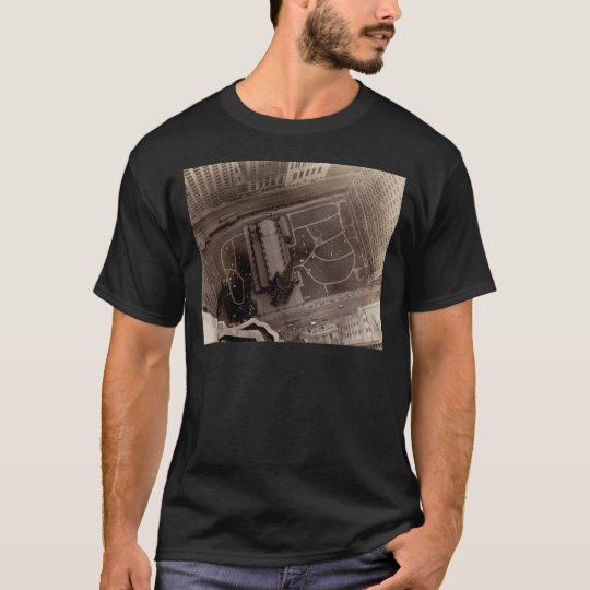 Looking Down on Trinity Church and Cemetery T-Shirt