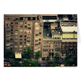 Looking Down Over Midtown Greeting Cards