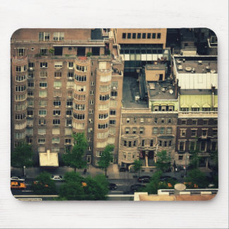 Looking Down Over Midtown Mouse Pad