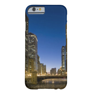 Looking down the frozen Chicago River at dusk. Barely There iPhone 6 Case