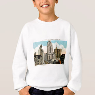 Looking East on Fort Street Detroit, Michigan Sweatshirt
