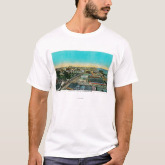 Looking East over Business Section, Long Beach T-Shirt