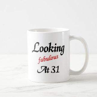 Looking fabulous at 31 classic white coffee mug