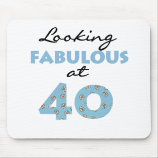 Looking Fabulous at 40 Mouse Pad