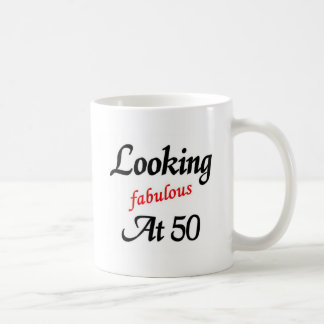 Looking fabulous at 50 mug