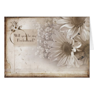 Looking  For A Bridesmaid Card