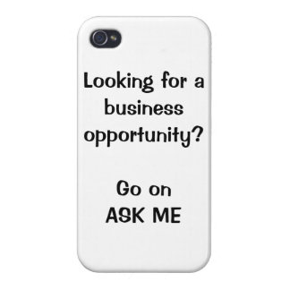 Looking for a business opportunity? iPhone case