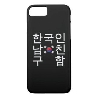 Looking for a Korean Boyfriend 한국인남친구함 iPhone 8/7 Case