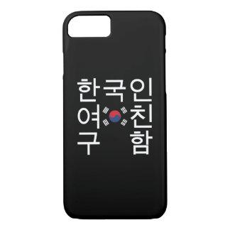 Looking for a Korean Girlfriend 한국인여친구함 iPhone 8/7 Case