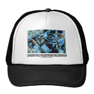 Looking For A Planktonic Relationship (Diatoms) Trucker Hat