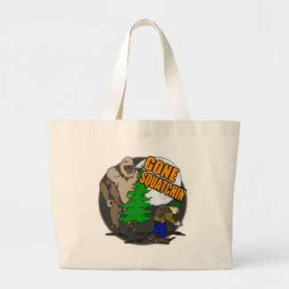 Looking for Bigfoot Tote Bags