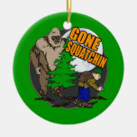 Looking for Bigfoot Christmas Ornaments