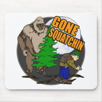Looking for Bigfoot Mouse Pad