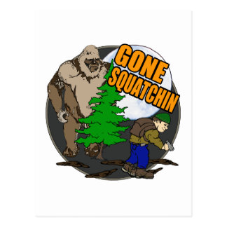Looking for Bigfoot Postcard