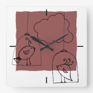 Looking for freedom square wall clock